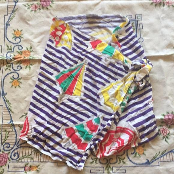 Other - ☔️ 90s Beach Umbrella Waist Sarong